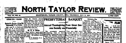 North Taylor Review newspaper archives