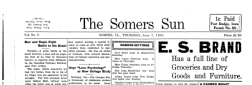 Somers Sun newspaper archives