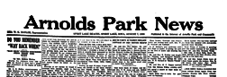 Arnolds Park News newspaper archives