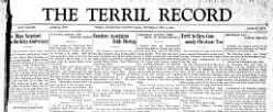 Terril Record newspaper archives