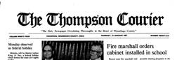 Thompson Courier newspaper archives