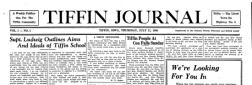 Tiffin Journal newspaper archives