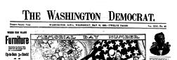 Washington Democrat Washington Iowa newspaper archives