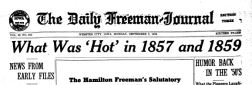 Webster City Daily Freeman Journal newspaper archives