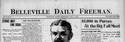 Belleville Daily Freeman newspaper archives