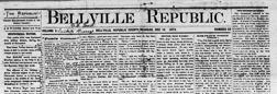 Belleville Republic newspaper archives