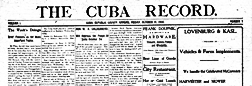 Cuba Record newspaper archives