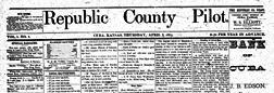 Cuba Republic County Pilot newspaper archives