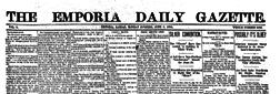 Emporia Daily Gazette newspaper archives