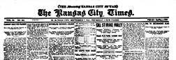 Kansas City Times newspaper archives