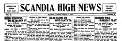Scandia High News newspaper archives