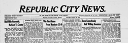 Republic County News newspaper archives