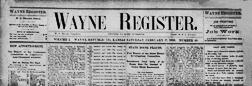 Wayne Register newspaper archives
