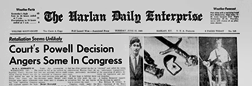 Harlan Daily Enterprise newspaper archives