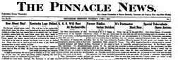 Middlesboro Pinnacle News newspaper archives