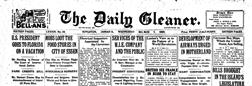 Kingston Gleaner newspaper archives