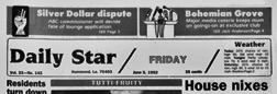 Hammond Star newspaper archives