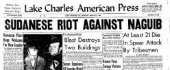 Lake Charles American Press newspaper archives