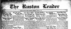 Ruston Leader newspaper archives