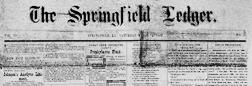 Springfield Ledger newspaper archives