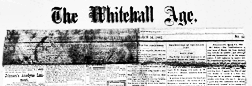 Whitehall Age newspaper archives