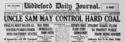 Biddeford Daily Journal newspaper archives