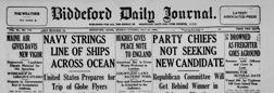 Biddeford Journal Tribune newspaper archives