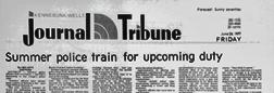 Biddeford Kennebunk Wells Journal Tribune newspaper archives