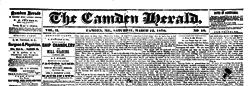 Camden Herald newspaper archives