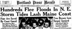 Portland Press Herald newspaper archives