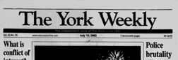 York Weekly newspaper archives