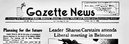 Baldur Gazette News newspaper archives