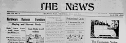 Belmont News newspaper archives