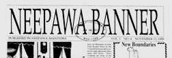 Neepawa Banner newspaper archives