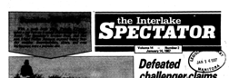 Interlake Spectator newspaper archives