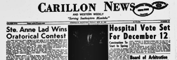 Carillon News newspaper archives