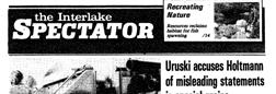 Interlake Spectator Stonewall Manitoba newspaper archives