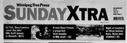 Winnipeg Free Press Sunday Xtra newspaper archives