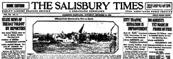 Salisbury Times newspaper archives