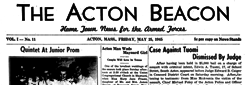 Acton Beacon newspaper archives