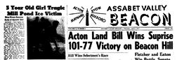 Assabet Valley Beacon newspaper archives