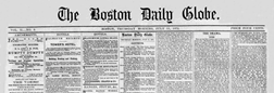 Boston Daily Globe newspaper archives
