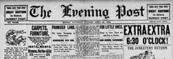 Boston Evening Post newspaper archives