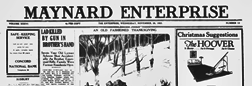 Concord Maynard Enterprise newspaper archives
