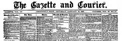 Greenfield Daily Recorder Gazette newspaper archives