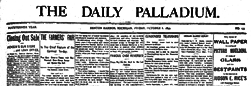 Benton Harbor Daily Palladium newspaper archives