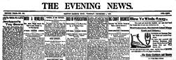 Benton Harbor Evening News newspaper archives