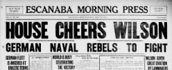 Escanaba Morning Press newspaper archives
