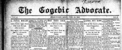 Gogebic Advocate newspaper archives