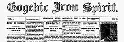 Gogebic Iron Spirit Ironwood Michigan newspaper archives